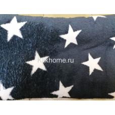 "Плед 180Х200, ""Синяя звезда"""