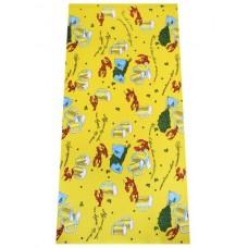 Вафельное полотенце 70х140 расветки в ассортименте