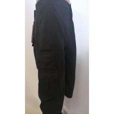 Шорты мужские с  боковыми карманами   удлененные чёрные