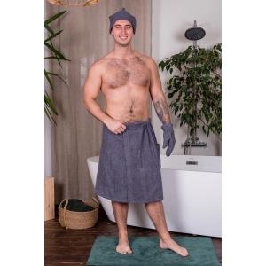 Набор  мужской для бани махровый