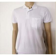 Рубашка мужская  - поло,  белая