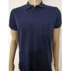Рубашка   мужская - поло ,  синяя