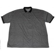 Рубашка мужская поло , комбинированая (Большие размеры)